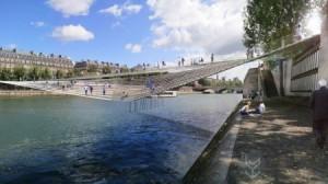 吊床式的创意桥梁设计