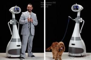 会遛狗的家用智能机器人