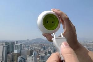 太阳能光伏板充电的创意插座