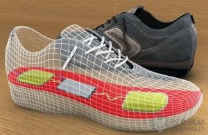 通过行走产生能量的创意鞋子