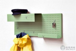 DIY创意手工制作的插入式挂钩