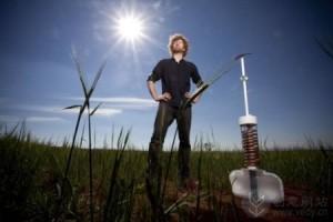 空气蓄水灌溉机的创意工业设计