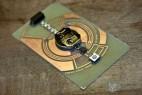 电子闪光的创意名片设计