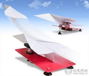 纸飞机发射器的创意小玩意
