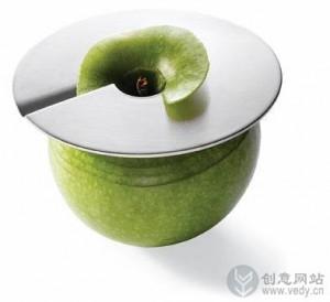 环形削皮的创意水果刀