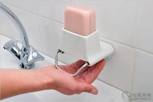 给香皂刨丝的创意香皂盒