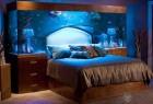 个性床头背景墙的创意卧室家居