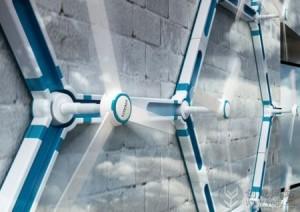 环保节能创意的迷你风力发电机
