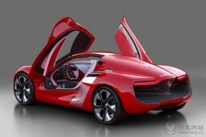 热力四射的红色概念跑车设计
