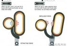 带磁铁吸力的安全创意剪刀
