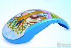 可以折叠的彩绘艺术创意鼠标设计