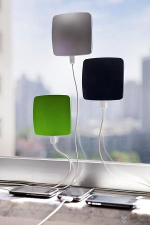 太阳能的iPhone创意充电器