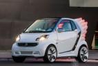 带翅膀的精灵版smart概念电动车