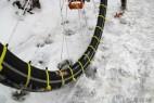 DIY手工制作的自行车防滑链