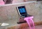 智能调节水温和水疗的创意水龙头