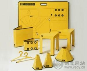 可折叠的DIY手工创意生活用品