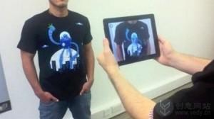 增强现实技术的互动游戏创意T恤