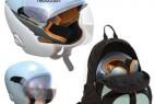 可以折叠便携的创意头盔设计