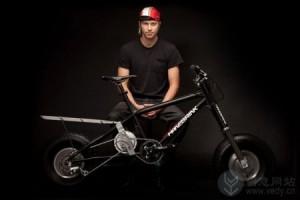轮胎超宽创意的电动越野自行车