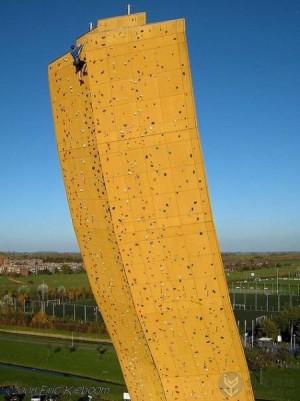 世界上最高难度的攀岩场