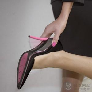 可以分离的创意高跟鞋