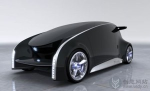 可以变色的创意概念汽车设计