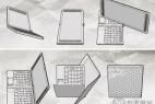 多次折叠的笔记本创意设计