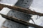 通过电热除雪的除雪板创意