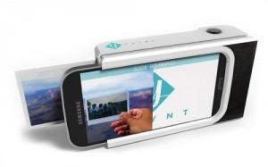内置微型打印机的创意手机壳