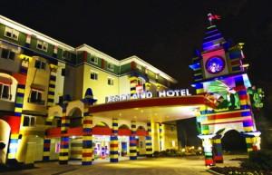 乐高主题酒店的创意设计