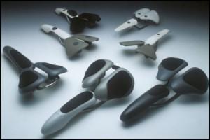 人体工学设计的创意自行车座