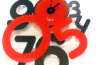 个性数字变形创意的时钟设计
