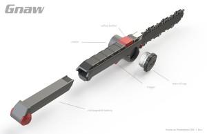 小刀一样方便的微型电锯