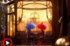 创意视频动画短片《蓝雨伞之恋》
