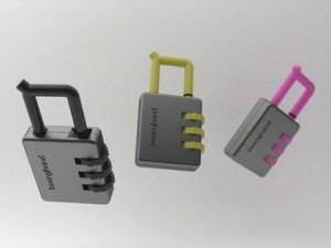密码锁造型功能的创意打火机