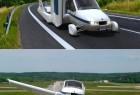 陆空两用的折翼飞机汽车