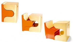 创意小家具的儿童积木组合桌椅
