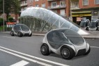 油电混合动力的新能源概念小汽车