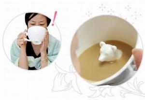 隐藏动物的创意茶杯设计