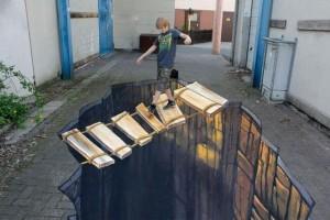 国外创意3D街头画作