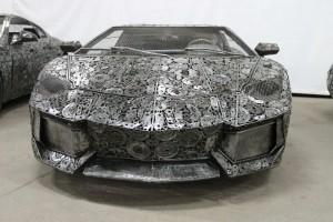 汽车垃圾零配件打造成的超级跑车