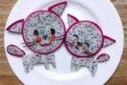 动物和卡通角色的创意水果拼盘设计