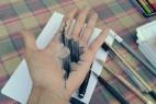 有立体感的创意铅笔画
