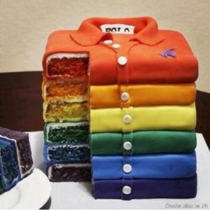 仿真造型的创意蛋糕