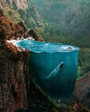 自然界超现实视觉数字后期CG设计