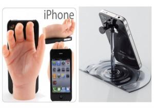 新奇特创意的iPhone支架