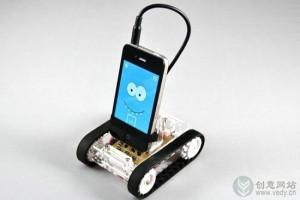 使用iPhone做大脑的机器人