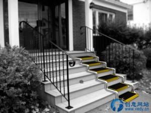 可调节变换的创意楼梯坡道