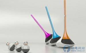 不倒翁式的创意扫帚和簸箕