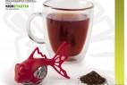 卡通鱼形状的茶叶分离器